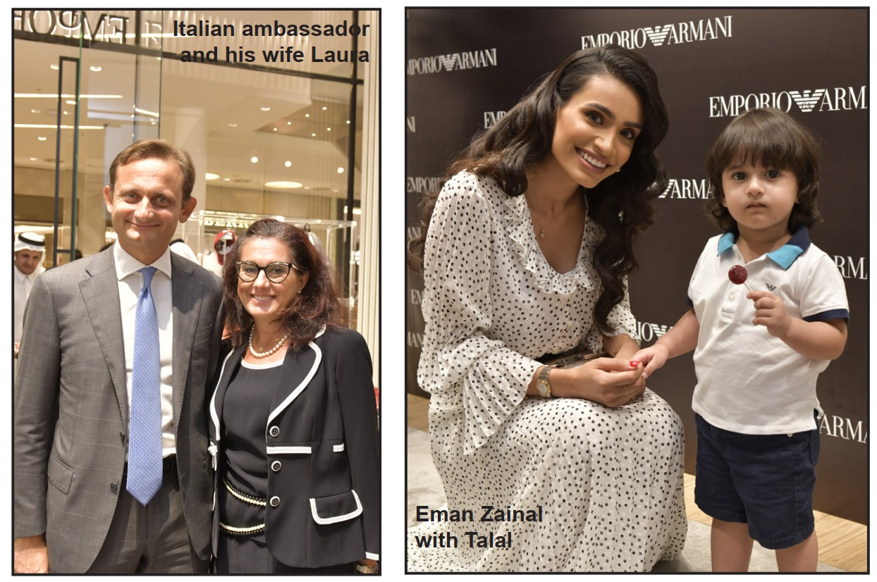 Gulf Weekly Emporio Armani unveils new store