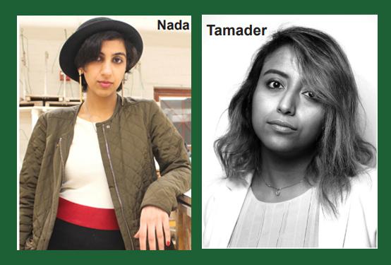 Gulf Weekly Tamadher Al Fahal and Nada Alaradi