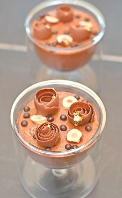 Gulf Weekly Chocolate Mousse + Hazelnut Praline