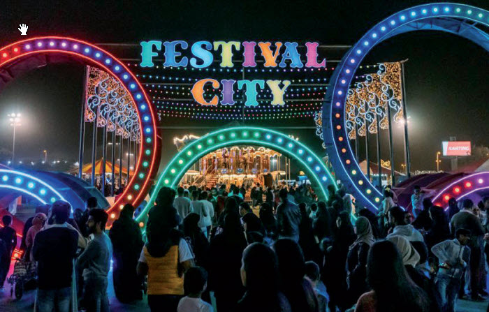 Gulf Weekly Thousands flock to festival