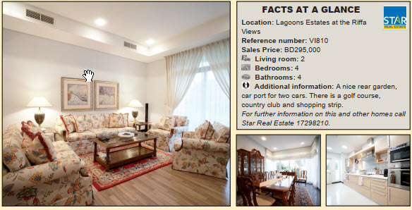 Gulf Weekly Majestic villa for sale