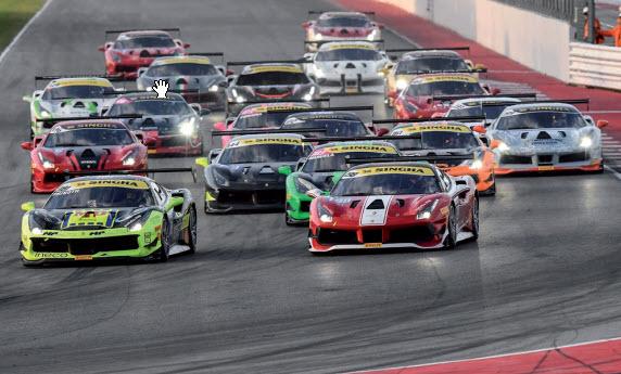 Gulf Weekly Ferrari BIC stampede