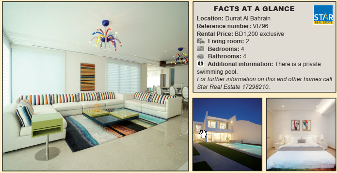 Gulf Weekly Furnished home by the sea