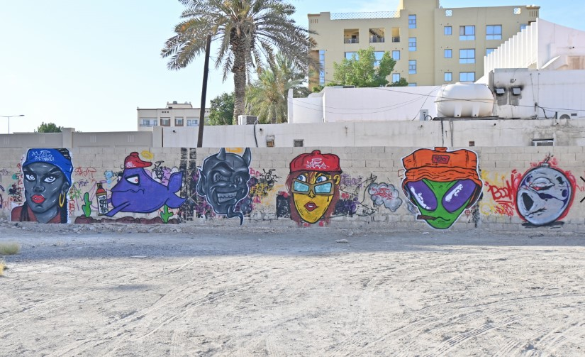 Gulf Weekly Spraying for solidarity...