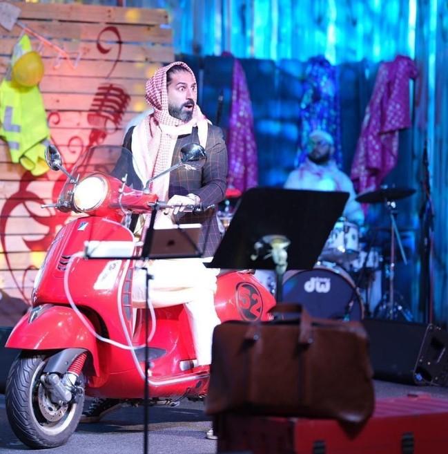 Gulf Weekly Khalid dazzles in digital concert