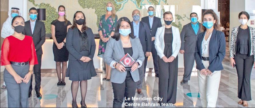 Gulf Weekly Le Meridien bags top honour