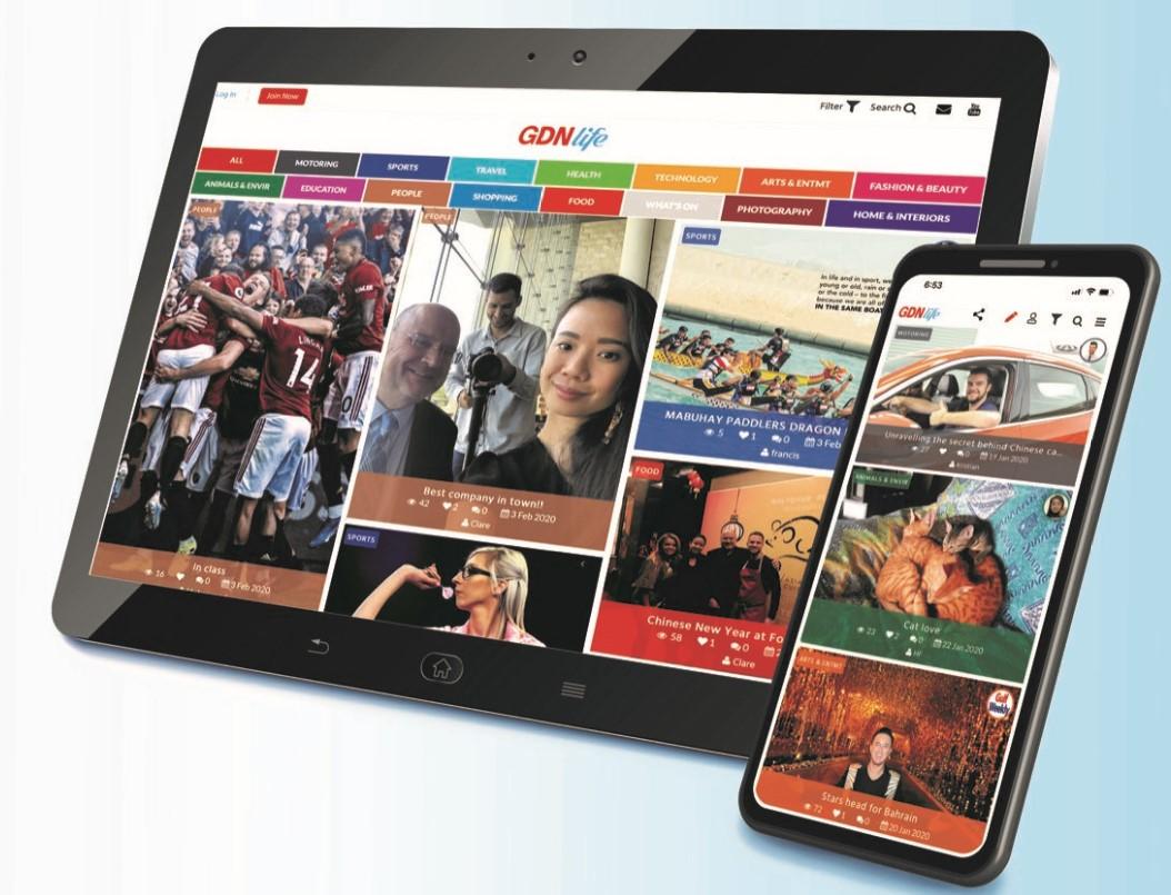 Gulf Weekly Bahrain's new platform