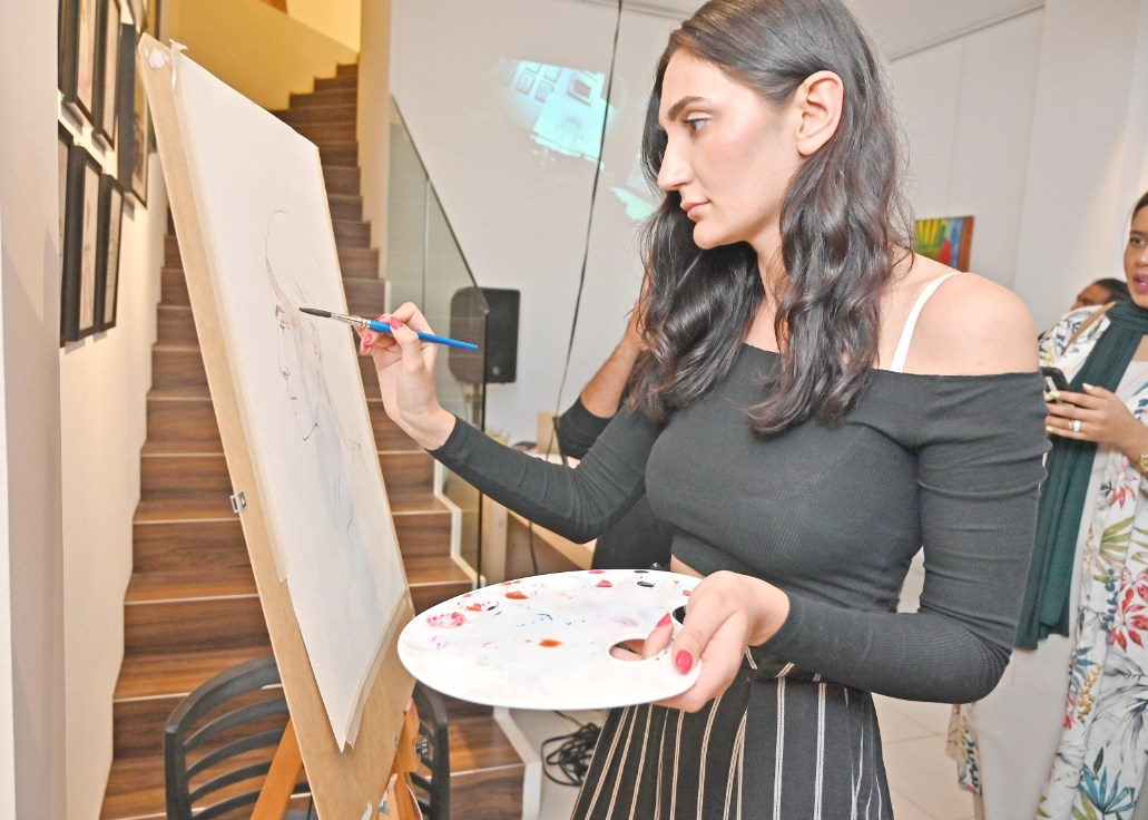 Gulf Weekly Paintings to ponder