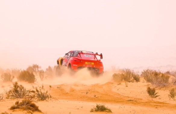 Gulf Weekly Test of mettle in desert