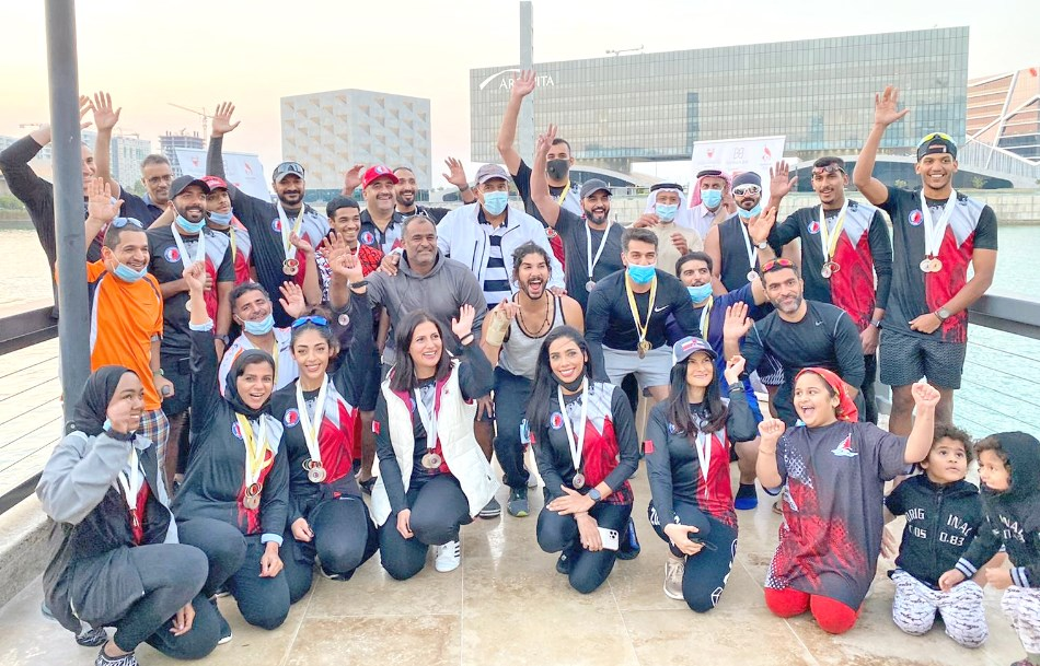 Gulf Weekly Rowing to success
