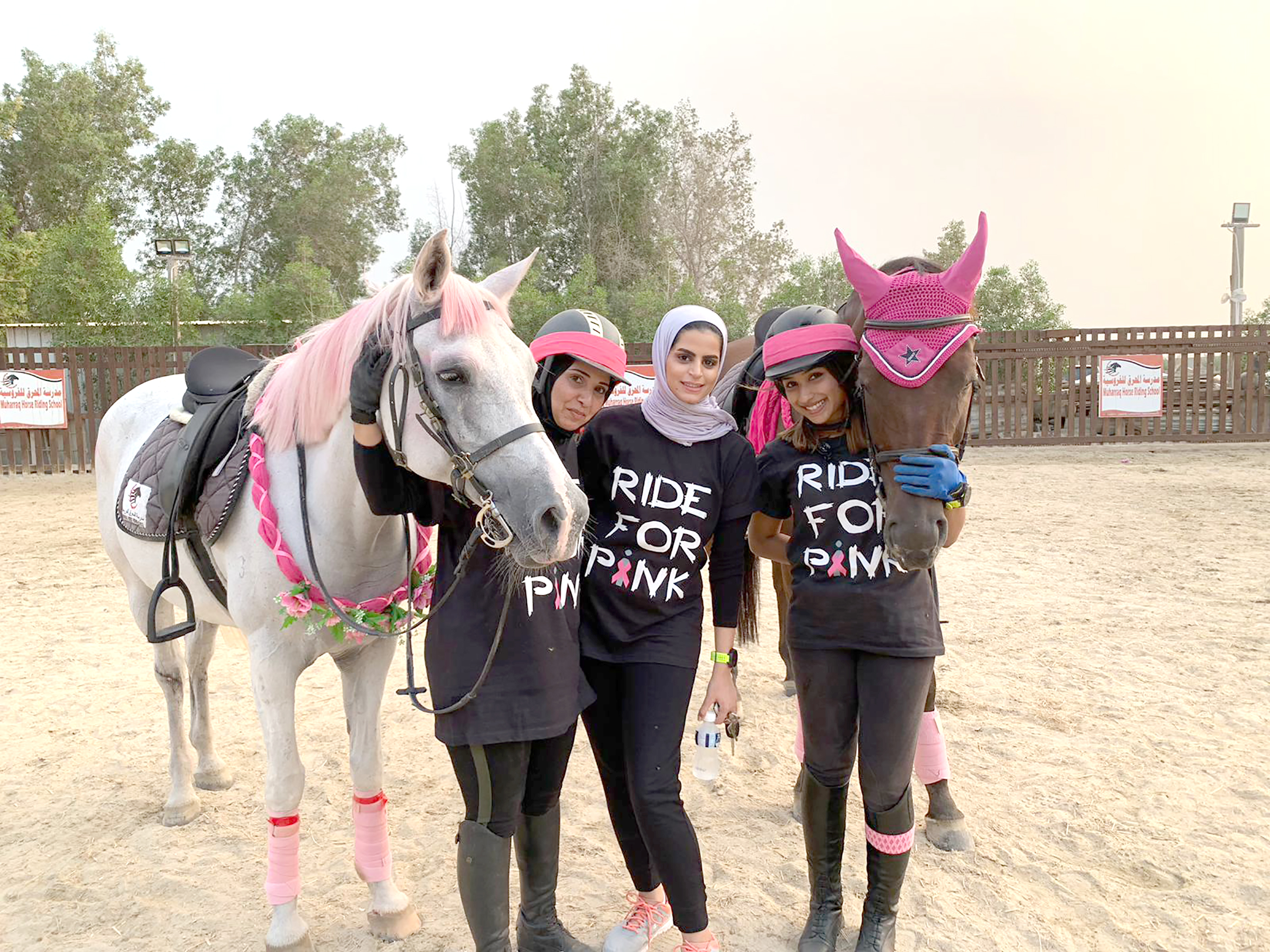 Gulf Weekly Saddling up for a cause