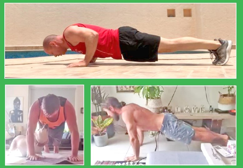 Gulf Weekly The push-up challenge