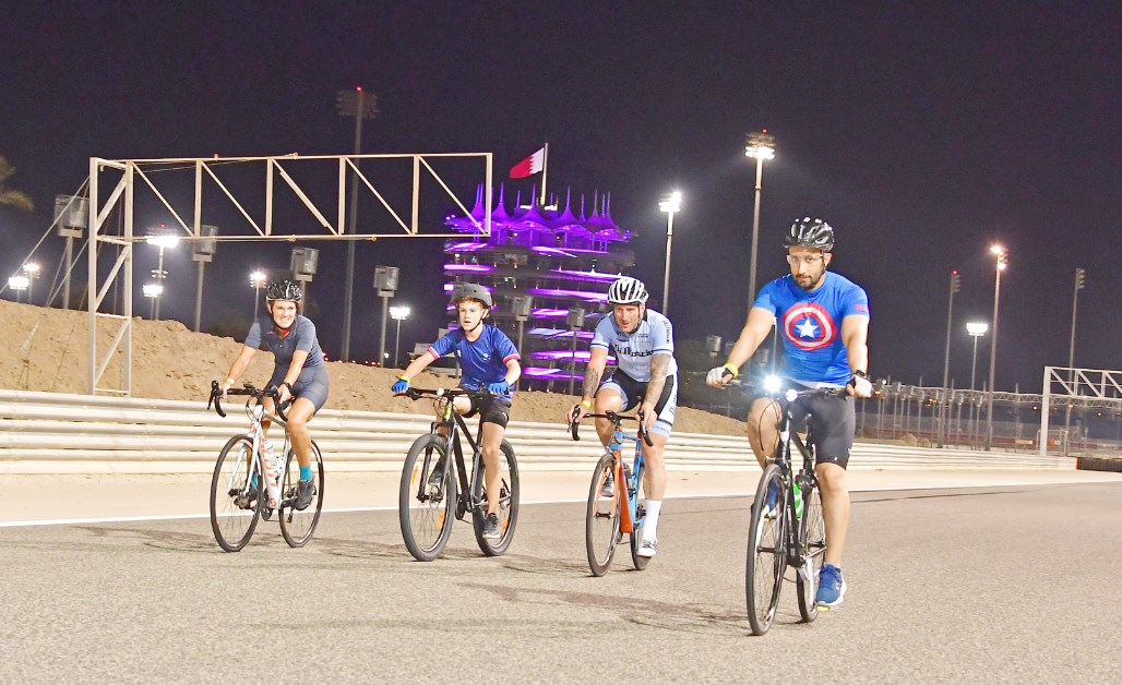 Gulf Weekly Getting fit on the right track