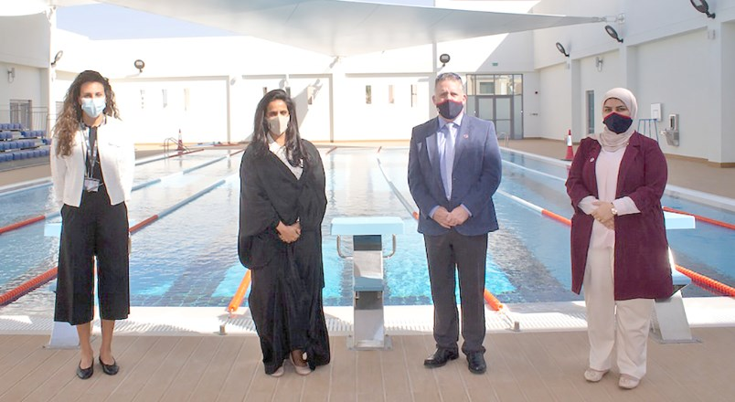 Gulf Weekly Swimming and safety in sync
