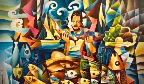 Gulf Weekly Colourful cubist culture